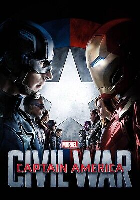 Captain America Civil War blu ray disc only from a 4k set - Please Read Descrip!