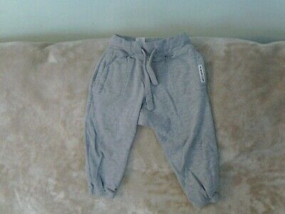 Boys 18-24 Months -  Light Grey Joggers Sports Trousers - Next
