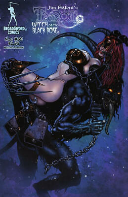 Tarot Witch of the Black Rose 89a Broadsword Jim Balent sexy NM FREE UK POST