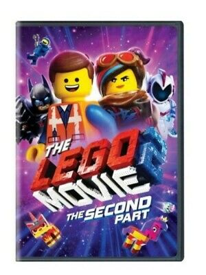 The LEGO Movie 2: The Second Part [DVD] [2019] NEW