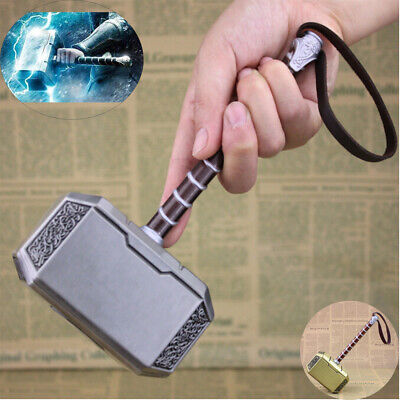 Avengers Thors Hammer Cosplay Costume Thor Weapon Replica Mjolnir Prop Metal20cm