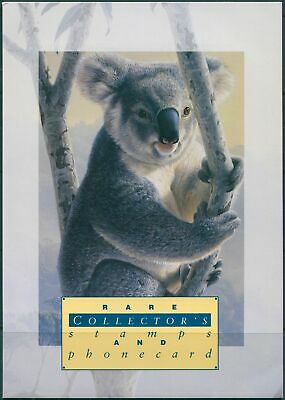 Australian Koalas 1994 Collector's Stamps and Phonecard pack