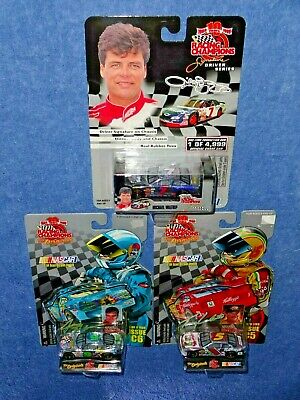 NASCAR Lot of 3 1999 Racing Champions CHASE CHROME M Waltrip Nadeau T Labonte