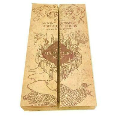 Harry Potter Hogwarts The Marauder's Map Kraft Paper The Wizarding World 77*22cm