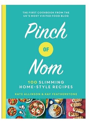 Pinch Of Nom 100 Slimming Style Recipes Book Weight Loss Cookbook Hardback