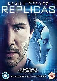 Replicas DVD - Keanu Reeves! Brand New! Free Shipping!