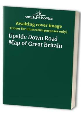 Upside Down Road Map of Great Britain Sheet map, folded Book The Fast Free