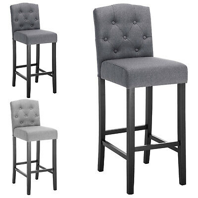 Stupendous Bar Stools Set Of 2 Bar Chairs Grey High Stools Breakfast Unemploymentrelief Wooden Chair Designs For Living Room Unemploymentrelieforg