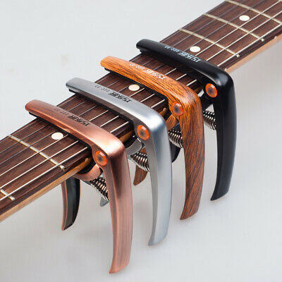 Guitar Capo Quick Change For Acoustic Guitar Accessories Trigger Capo Key Clamp
