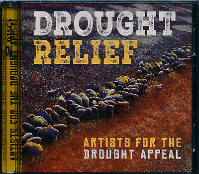 Drough Relief Artists For The Drought Appeal 2-disc CD NEW Lee Kernaghan
