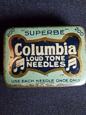 Columbia needle tin