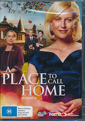A Place to Call Home Series Four 4 DVD NEW Region 4