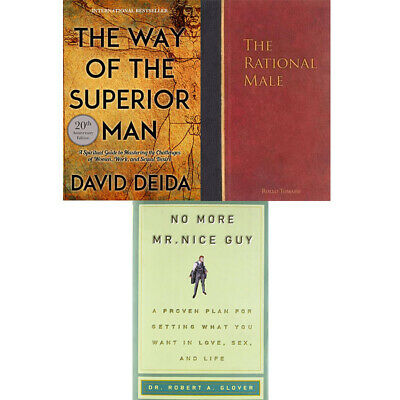 Way of the Superior Man, Rational Male, No More Mr Nice 3 books collection set