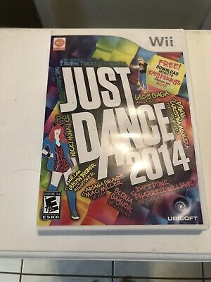 Just Dance 2014 (Nintendo Wii, 2013) With Instruction Booklet