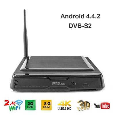 Android TV Box 8GB Amlogic Quad Core OTT TV Box Media Player Multi-functional