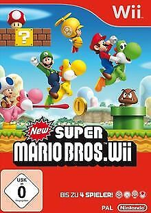 New Super Mario Bros. Wii von Nintendo | Game | Zustand gut