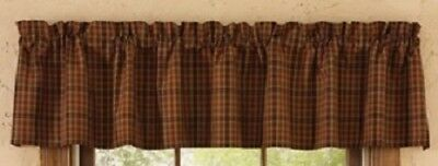 Primitive Spice Valance Rustic Country Curtain by Park Designs Farmhouse Decor
