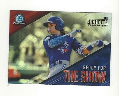 2019 Bowman Chrome Baseball Ready For The Show Insert Singles - You Choose