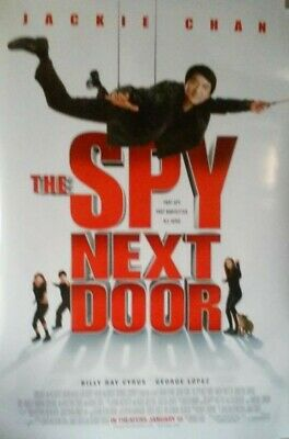 """Original Movie Theater Posters - The Spy Next Door, Jackie Chan 27"""" X 40"""" DS"""