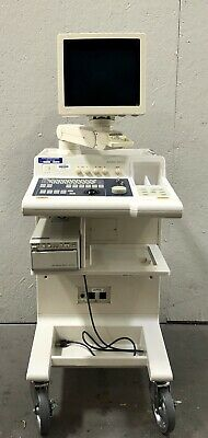 Aloka 650CL Ultrasound w/ 2 Probes, Printer, Accessories