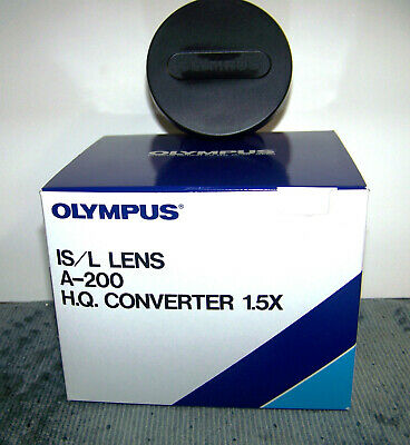 Olympus IS/L Lens  A-200 HQ 1.5X Converter (49mm)  IN BOX - Perfect Condition