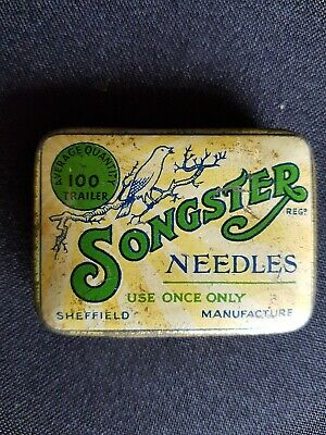 Songster needle tin