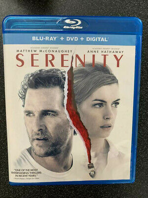Serenity 2019 Blu-ray Disc ONLY+Case&Artwork No DVD/Digital SAVE$$$ Combine Ship