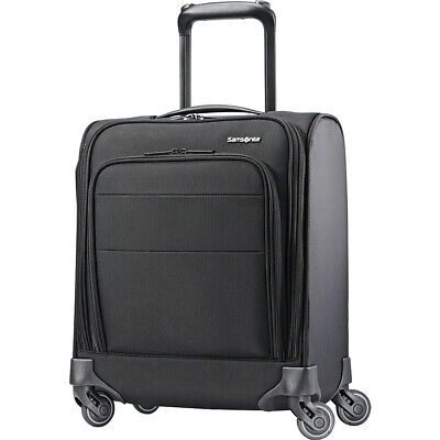 Samsonite Flexis Underseat Spinner Carry-On w/USB Port Softside Carry-On NEW