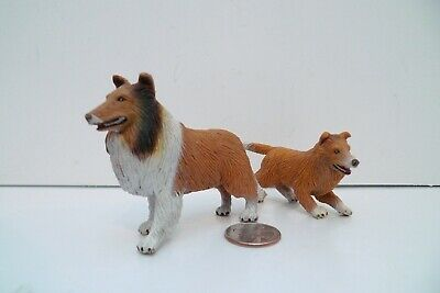 New in Package FREE SHIPPINGCollectA 88192 Rough Haired Collie Puppy Toy
