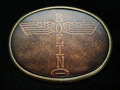OF15170 *NOS* VINTAGE 1970s **BOEING** AVIATION & AIRCRAFT COMPANY BELT BUCKLE