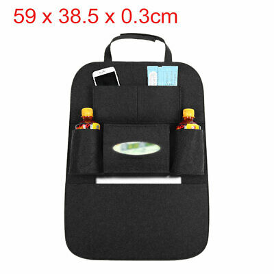 Black Multi-Pocket Storage Bag Car Auto Seat Back Hanger Holder Organizer