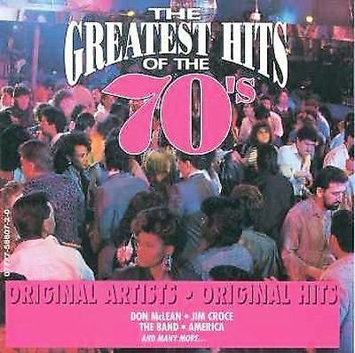 Greatest Hits of the 70's, Vol. 5 by Various Artists (CD, Feb-1999, Platinum...