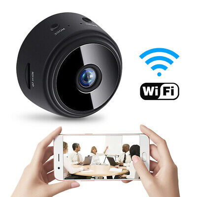Mini Full 1080P HD Spy IP WIFI Camera Wireless Hidden Home Security Night Vision