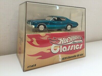 RARE LE Hot Wheels Classics 1:43 1970 CHEVELLE SS 454 JAPAN F/S LIMITED EDITION