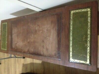 period antique coffee table extendable with flaps needs restoration