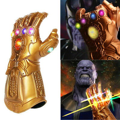 LED Thanos Infinity Gauntlet Glove Cosplay Infinity War The Avengers Prop Gifts