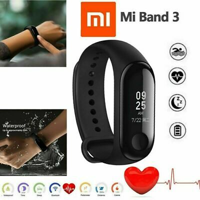 Xiaomi Mi Band 3 Fitness Tracker Intelligentes Armband Global Version Schwarz