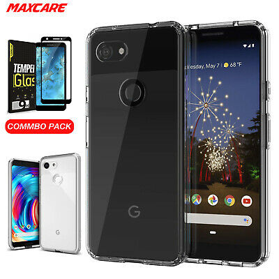 Google Pixel 3a / Pixel 3a XL Case Cover, Shockproof Crystal Clear Anti-falling