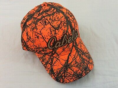 49fe76c78 NEW WITH TAGS Cabela's Blaze Orange GORE-TEX Hunting Cap With ...