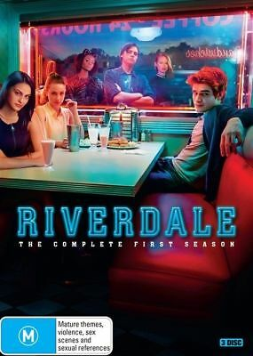 Riverdale First Season One 1 DVD NEW Region 4
