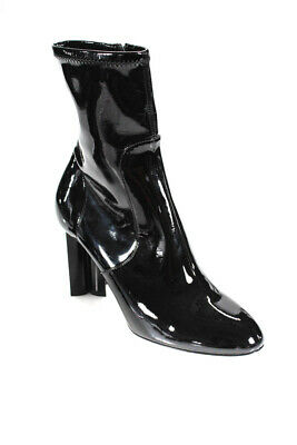 94123a5f0218 Louis Vuitton Women s Patent Leather Silhouette Ankle Boots Black Size 38 8
