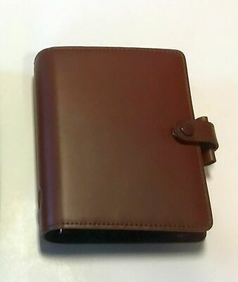 "Filofax Pocket  ""Buckingam""  Italian Leather - Filled Organiser"