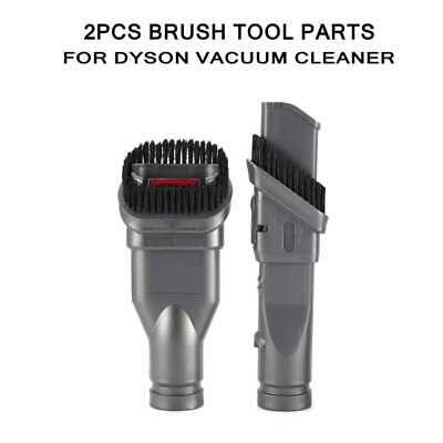 2pcs Vacuum Cleaner Brush Tool Parts Adapter Accessories Kit for Dyson U1V6