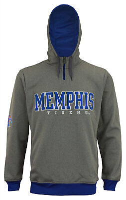 finest selection a021e 0c609 NCAA Men s Basic 1 4 Zip Hooded Pullover, Memphis Tigers
