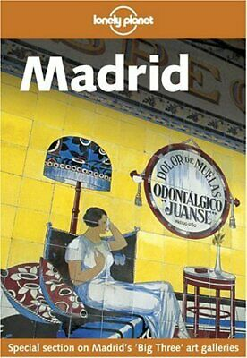 (Good)-Madrid (Lonely Planet City Guides) (Paperback)-Simonis, Damien-1740591747