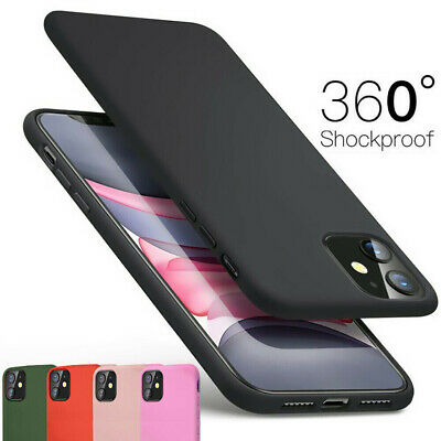 Case for iPhone 11 Pro XS Max XR 7 8 Plus Cover 360 Luxury Thin Shockproof Cover