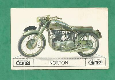 Image Chocolat Cemoi Moto Vintage Old Motorcycle Card  Norton