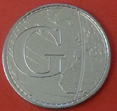 NEW A-Z 2019 ALPHABET 10p COIN HUNT-LETTER G - GREENWICH MEAN TIME UNCIR s/bags