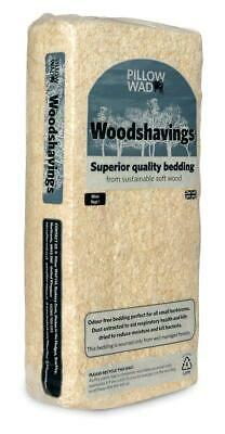 Pillow Wad Softwood Wood Shavings Bedding Small Animal Soft Pets