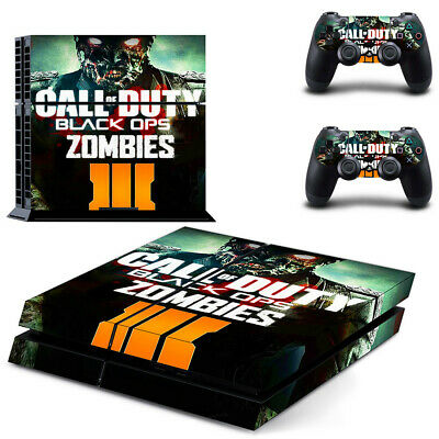 Video Games & Consoles Cod Zombies Wwii Sticker Console Decal Playstation 4 Controller Vinyl 1 Ps4 Skin Video Game Accessories